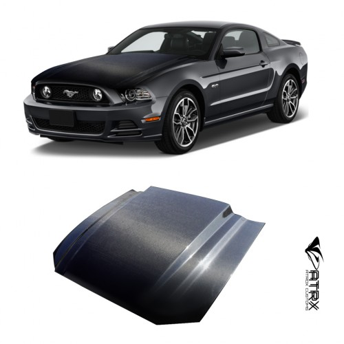 Cofre Capo Toma Aire Carbono 3 Inch Cowl Ford Mustang 2013 - 2014