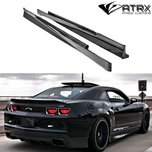 Estribos Laterales Rockers OE Carbono Chevrolet Camaro 2010 - 2013