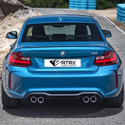 Fascia Difusor Conversion M2 BMW Serie 2 F22 220i 235i M 2014 - 2018