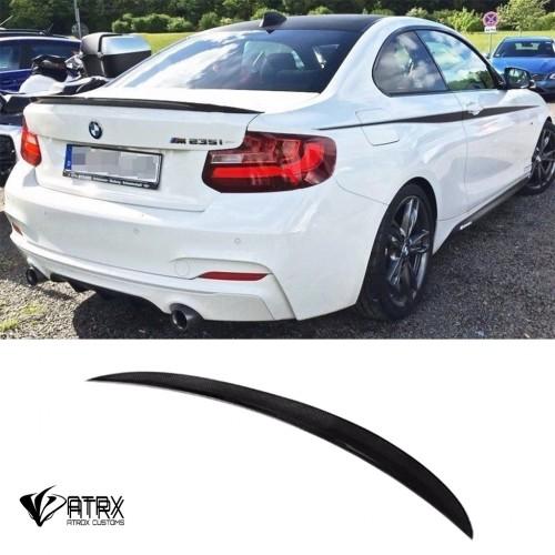 Alerón Spoiler M Performance Carbono BMW M2 F87 F22 220 235 240 2014 - 2018