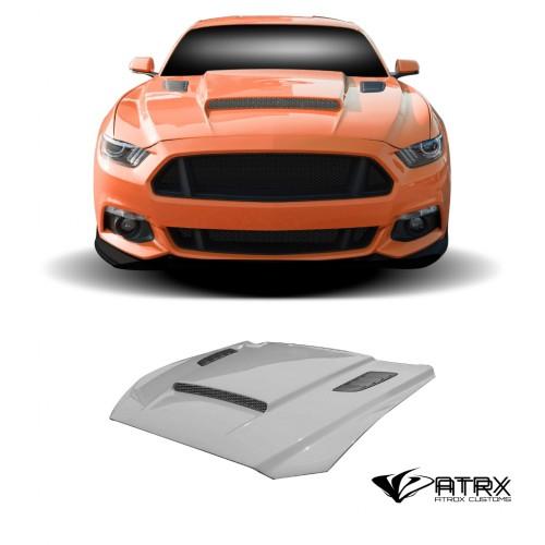Cofre Capo CVX V2 FRP Duraflex Ford Mustang 2015 - 2017