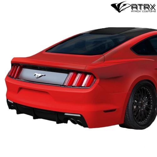 Difusor Faldón Fascia Trasera Carbono Ford Mustang 2015 - 2017