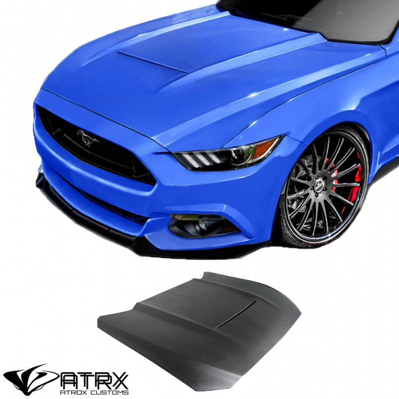 Cofre Capo GT350 Style FRP Duraflex Ford Mustang 2015 - 2018