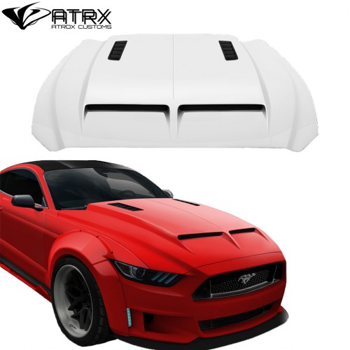 Cofre Capo GT500 Style FRP Duraflex Ford Mustang 2015 - 2017