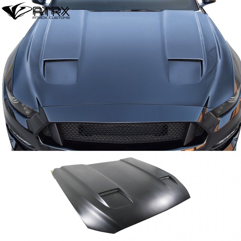 Cofre Capo DriTech MK7 FRP Duraflex Ford Mustang 2015 - 2017