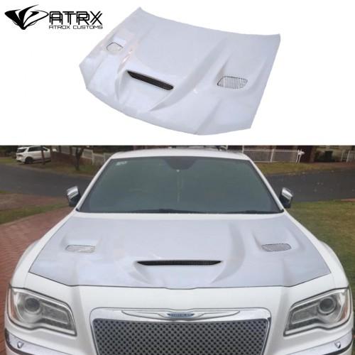 Cofre Capo Hellcat Style Funcional FRP Chrysler 300C 2011 - 2018