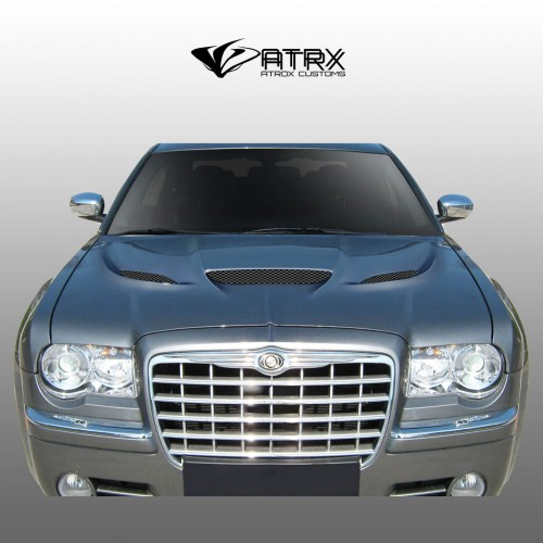 Cofre Capo Hellcat Style FRP Chrysler 300C 2005 - 2010
