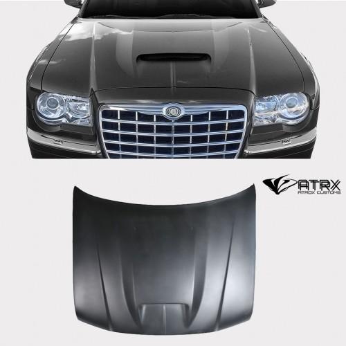 Cofre Capó SRT Style FRP Chrysler 300C 2005 - 2010