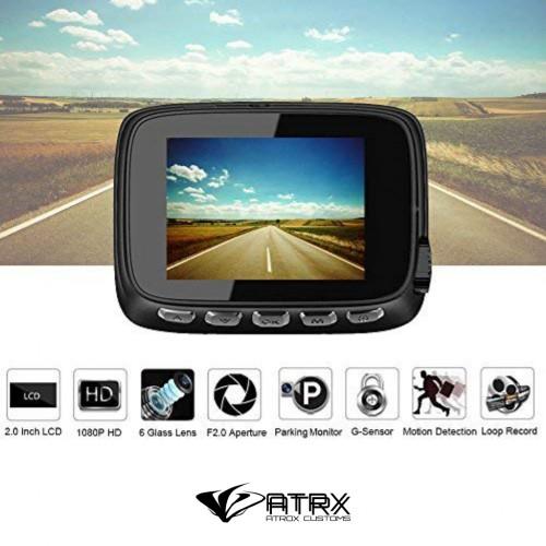 """Dash Cam 2"""" IPS Discreta Full HD 1080p"""