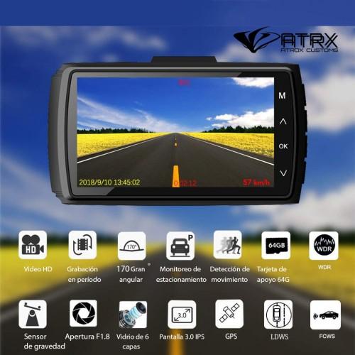 Dash Cam Premium Con GPS Sensor-G Full HD 1080p
