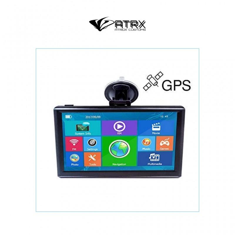 "Navegador GPS 7"" HD Touch Screen Multimedia"