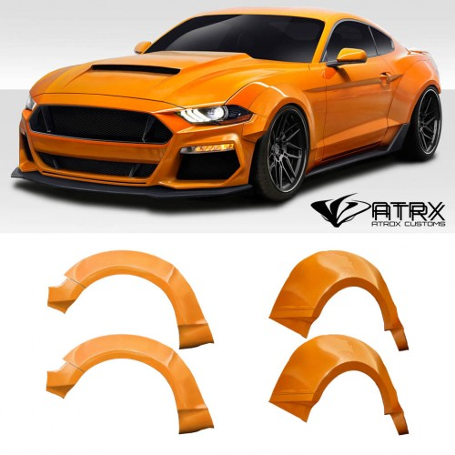 Salpicaderas Cantoneras Wide Body Couture FRP Ford Mustang 2018 - 2019