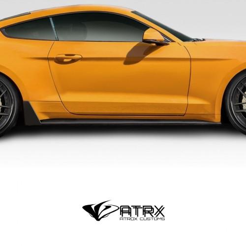 Estribos Faldones Laterales Duraflex FRP Ford Mustang 2015 - 2019