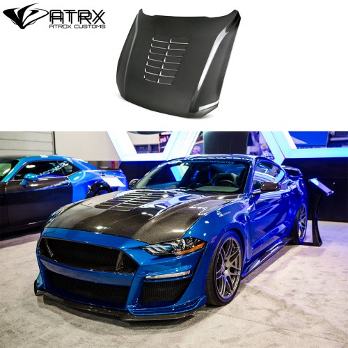 Cofre Capo TYPE-GT5 Carbono Anderson Ford Mustang 2018 - 2019