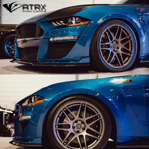 Cantoneras Salpicaderas Delanteras TYPE-ST FIBERGLASS Anderson Ford Mustang 2018 - 2019