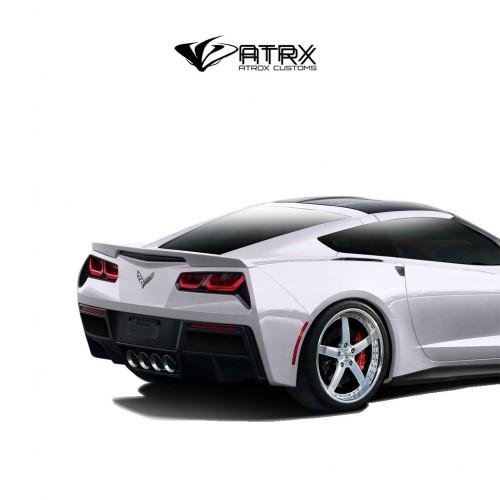 Difusor Fascia Trasera Gran Veloce FRP Chevrolet Corvette C7 2014 - 2019