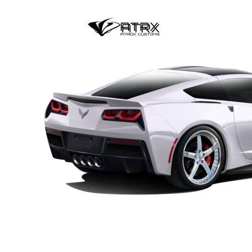 Difusor Frascia Gran Veloce Carbono Chevrolet Corvette C7 2014 - 2019