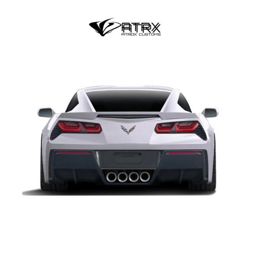 Difusor Fascia Trasera GT Concept FRP Chevrolet Corvette C7 2014 - 2019