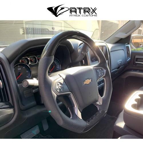 Volante Fibra Carbono Chevrolet Silverado 2014 - 2018