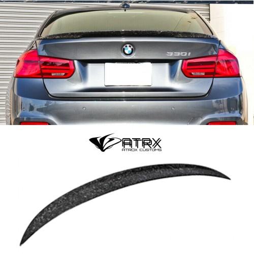 Alerón Spoiler Wing Style Fibra Carbon Forjado BMW F30 F80 2012 - 2018
