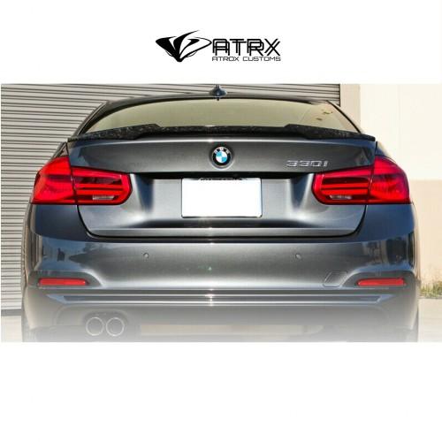 Alerón Spoiler Trunk Wing Style Fibra Carbon Forjado BMW F30 F80 M4 2012 - 2018
