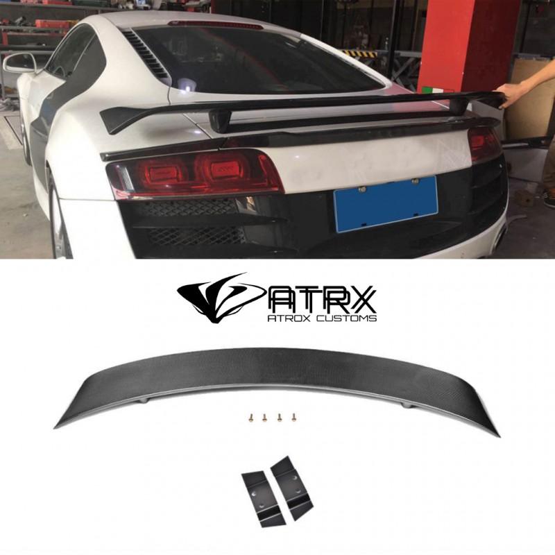 Spoiler trasero Carreras Ala Fibra Carbono AUDI R8 GT V8 V10 2008 - 2015