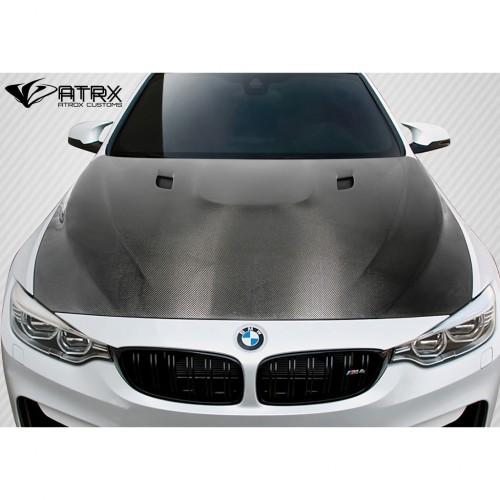 Cofre Capo DriTech E92 Carbono BMW Serie 4 M3 M4 2014 - 2019