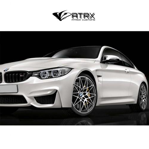 Salpicaderas Cantoneras Wide Body Kit Metal M4 Style BMW F30 M3 2012 - 2018