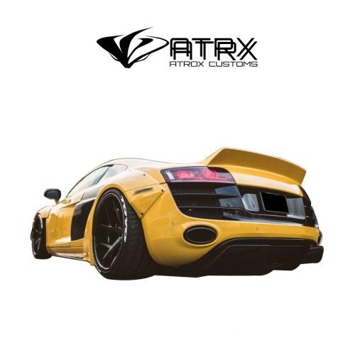 Alerón Spoiler Liberty Walk Style FRP Audi R8 V8 V10 2006 - 2012