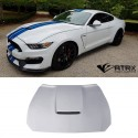 Cofre Capo GT3 Funcional FRP Ford Mustang 2015 - 2017