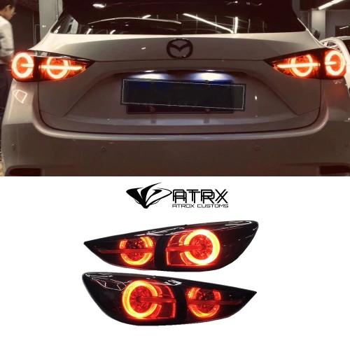 Faros traseros conjunto calaveras Led Mazda 3 hatchback 2014 - 2018