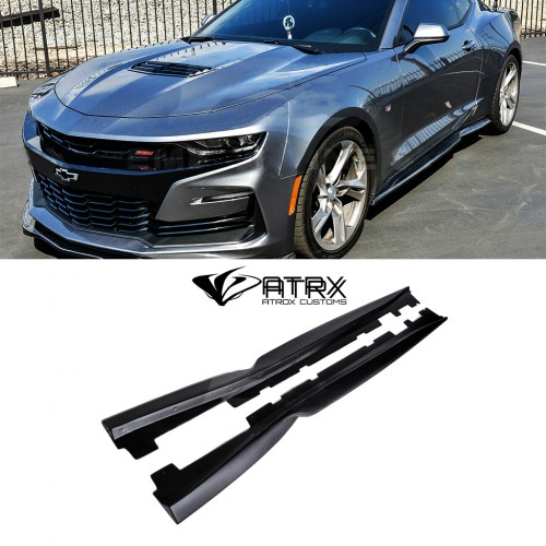 Estribos laterales Side Skirts T6 Style ABS Chevrolet Camaro 2019