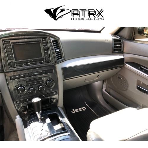 Revestimiento Kit Interior Plástico Sin GPS Jeep Grand Cherokee 2005 - 2007
