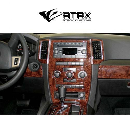 Kit Revestimiento Interior Madera Carbono Jeep Grand Cherokee 2008 - 2010