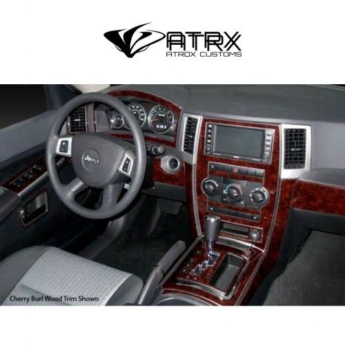 Kit Revestimiento Interior tipo Madera Carbono Jeep Grand Cherokee 2008 - 2010