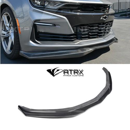 Lip Bumper EOS Style Fibra Carbono Chevrolet Camaro SS 2019