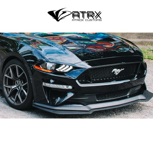 Lip Bumper Splitter GT Style Ford Mustang 2018 - 2019