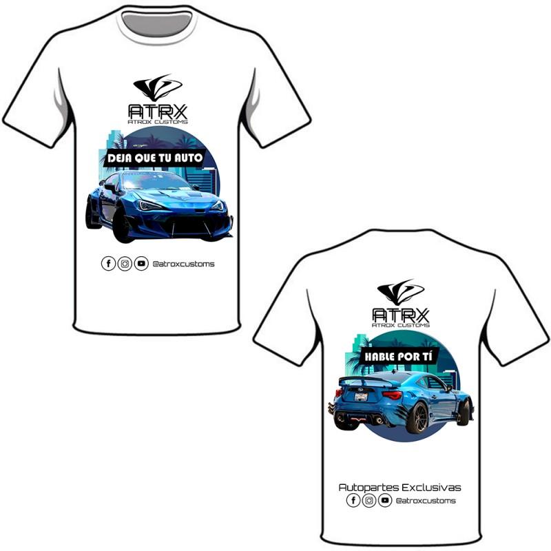 Playera Conmemorativa Subaru BRZ Widebody Pandem