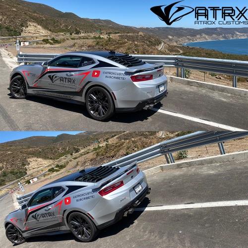 "Sistema Escapes Catback Race 3"" 4 Puntas MBRP Chevrolet Camaro 2016 - 2020"