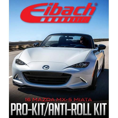 "Resortes Amortiguadores Deportivos Eibach Prokit 0.8"" Mazda MX5 2016 - 2021"