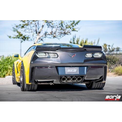 Sistema Escapes Axleback Borla ATAK Chevrolet Corvette 2014 - 2019