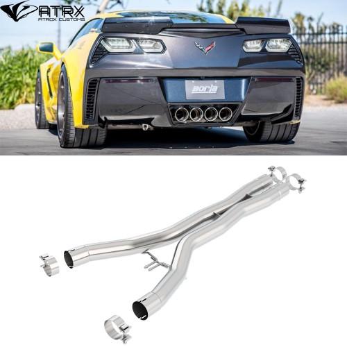 Escape X Pipe Tubería Borla Chevrolet Corvette 2014 - 2019