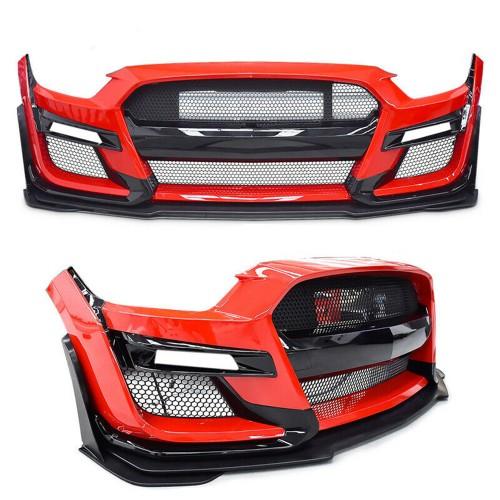 Kit Fascia Defensa Parrillas Lip GT500 Ford Mustang 2015 - 2017