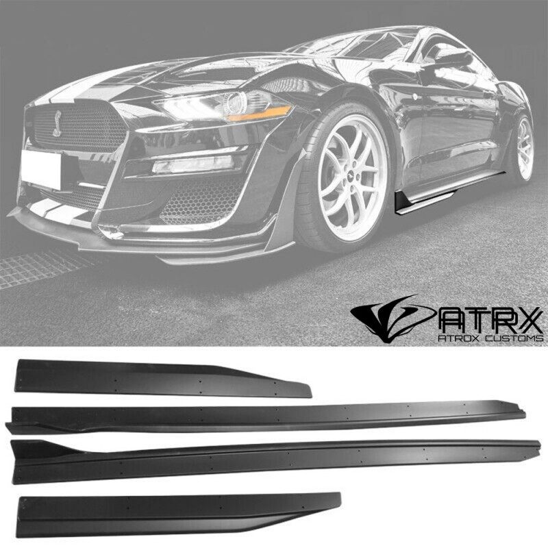 Estribos Faldones Laterales Shelby GT500 Ford Mustang 2015 - 2021