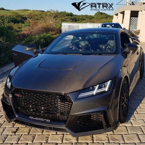 Cofre Capo Fibra Carbono Toma Aire Audi TT S RS 2015 - 2021