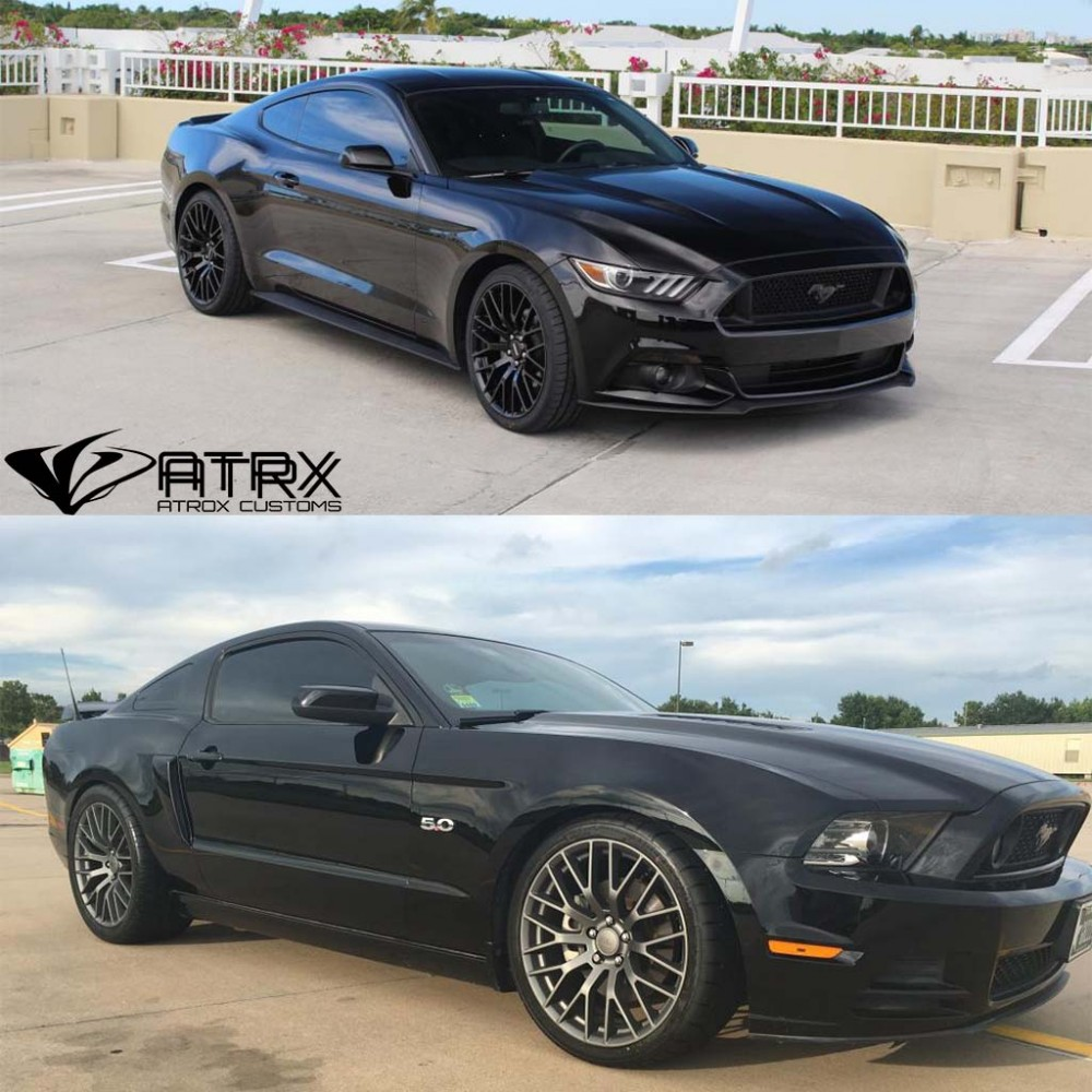 rines gt performance pack ford mustang 2008 2018. Black Bedroom Furniture Sets. Home Design Ideas