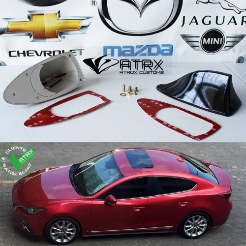 Antena Aleta de Tiburón Slim Mazda 2014 - 2016
