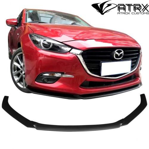 Lip Bumper Faldón Frontal V1 Mazda 3 2014 - 2018