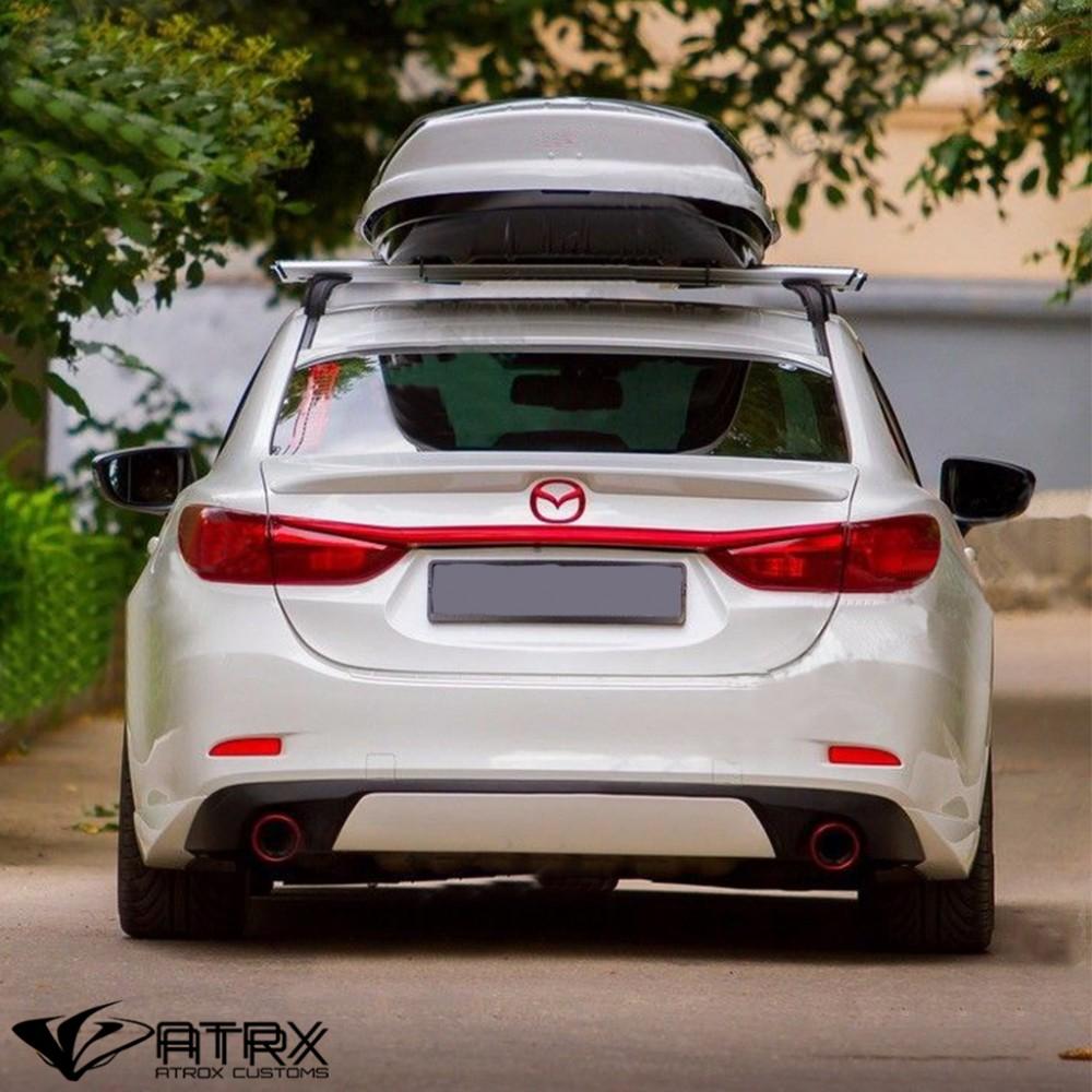 2018 Mazda Mazda6 Camshaft: Difusor S Fascia Escapes Faldón Trasero MV Mazda 6 2013
