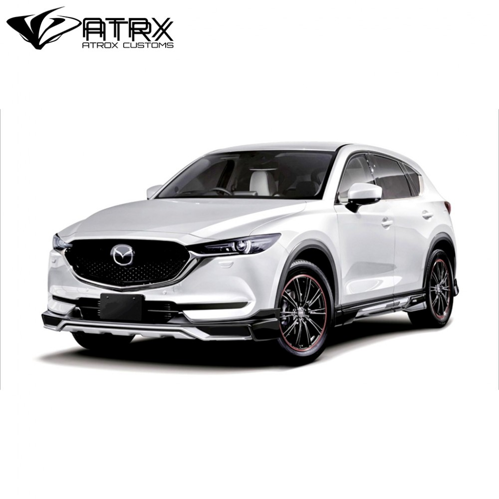 body kit lip bumper estribos difusor mazda cx5 2018. Black Bedroom Furniture Sets. Home Design Ideas